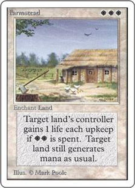 MtG Unlimited Rare Farmstead
