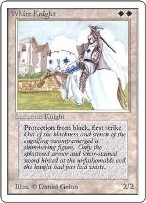 MtG Unlimited Uncommon White Knight