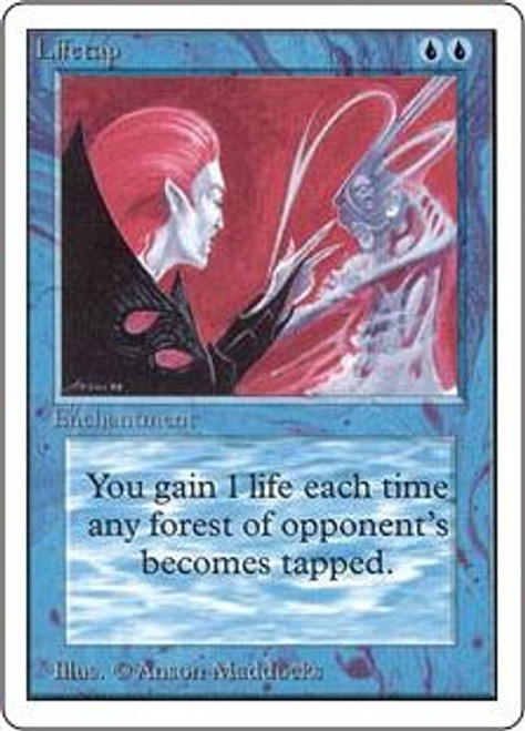 MtG Unlimited Uncommon Lifetap