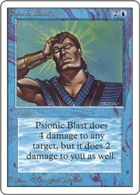 MtG Unlimited Uncommon Psionic Blast
