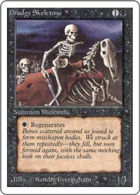MtG Unlimited Common Drudge Skeletons