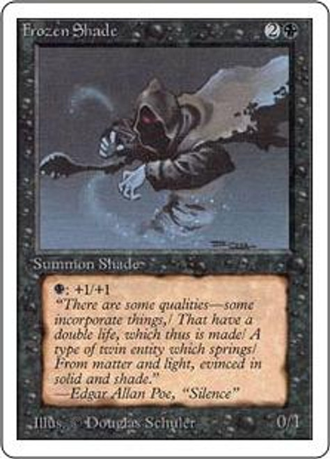 MtG Unlimited Common Frozen Shade