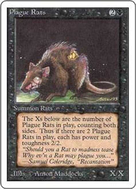 MtG Unlimited Common Plague Rats