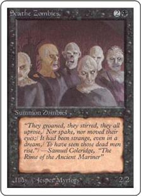 MtG Unlimited Common Scathe Zombies