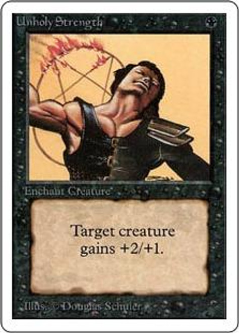 MtG Unlimited Common Unholy Strength