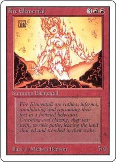 MtG Unlimited Uncommon Fire Elemental