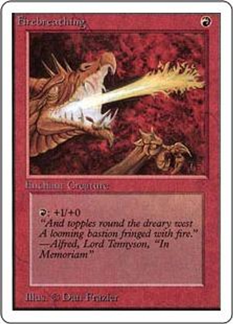 MtG Unlimited Common Firebreathing