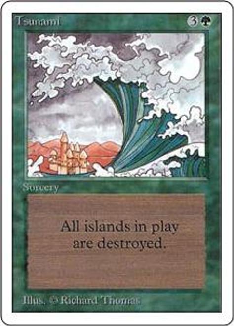 MtG Unlimited Uncommon Tsunami