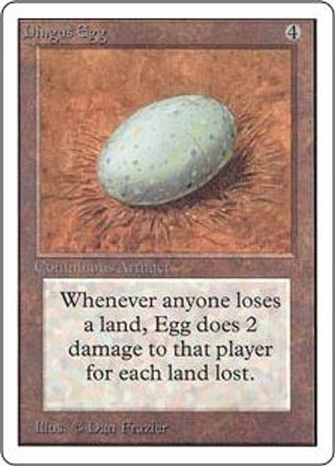 MtG Unlimited Rare Dingus Egg