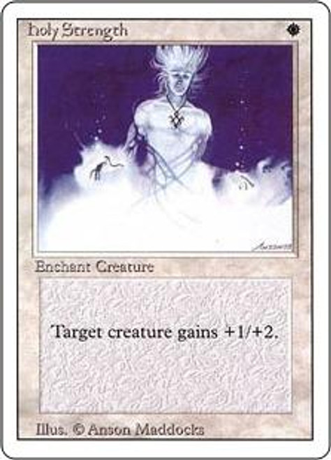 MtG Revised Common Holy Strength