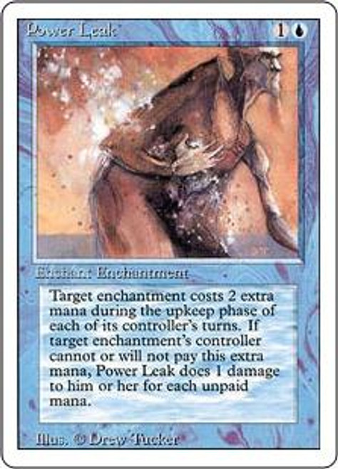 MtG Revised Common Power Leak