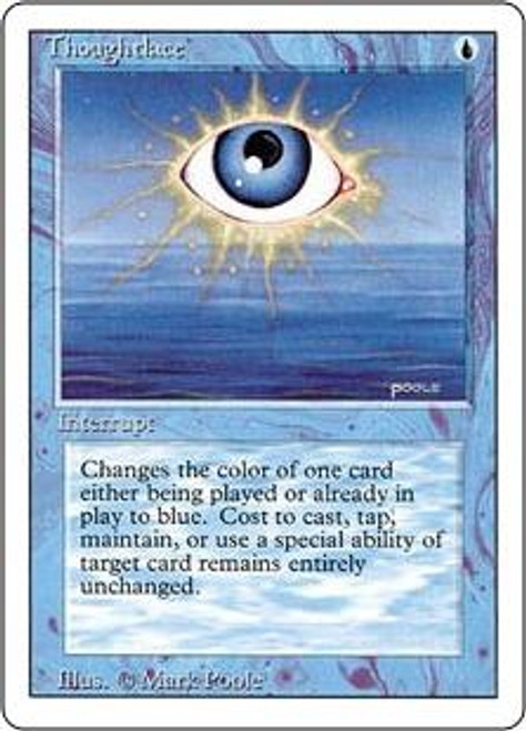 MtG Revised Rare Thoughtlace
