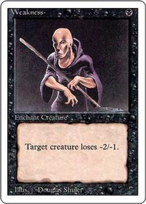 MtG Revised Common Weakness