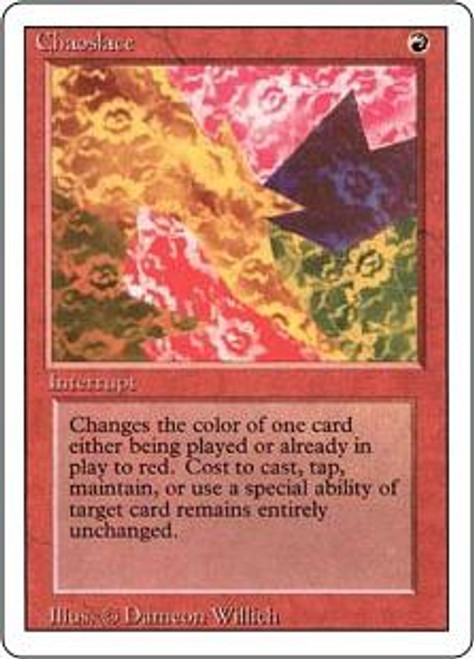 MtG Revised Rare Chaoslace