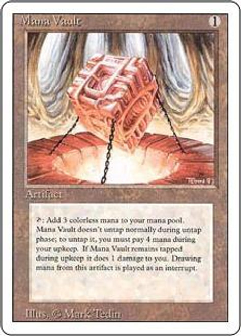 MtG Revised Rare Mana Vault