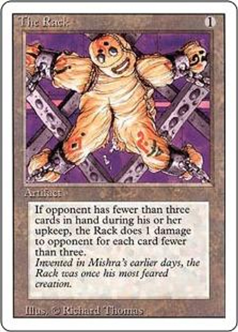 MtG Revised Uncommon The Rack