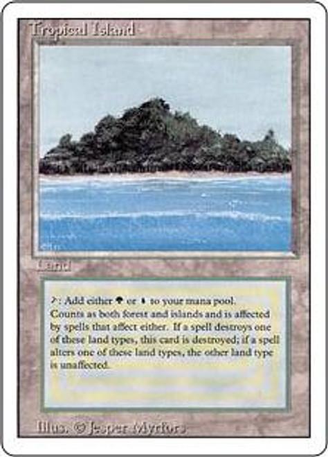 MtG Revised Rare Tropical Island