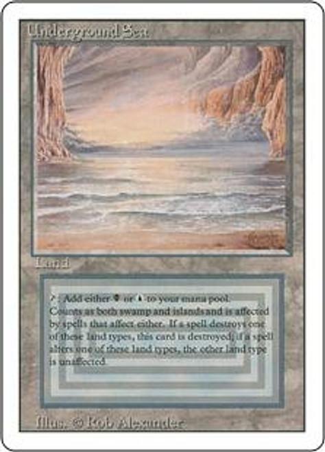 MtG Revised Rare Underground Sea [Near Mint / Mint]