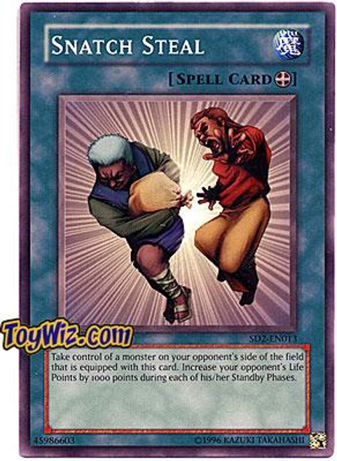 YuGiOh GX Structure Deck: Zombie Madness Common Snatch Steal SD2-EN013