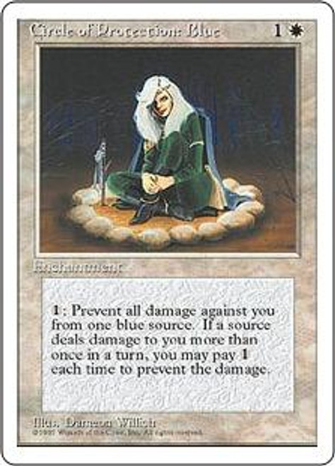 MtG 4th Edition Common Circle of Protection: Blue