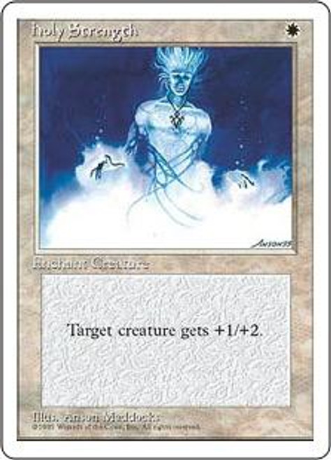 MtG 4th Edition Common Holy Strength