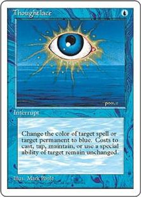MtG 4th Edition Rare Thoughtlace