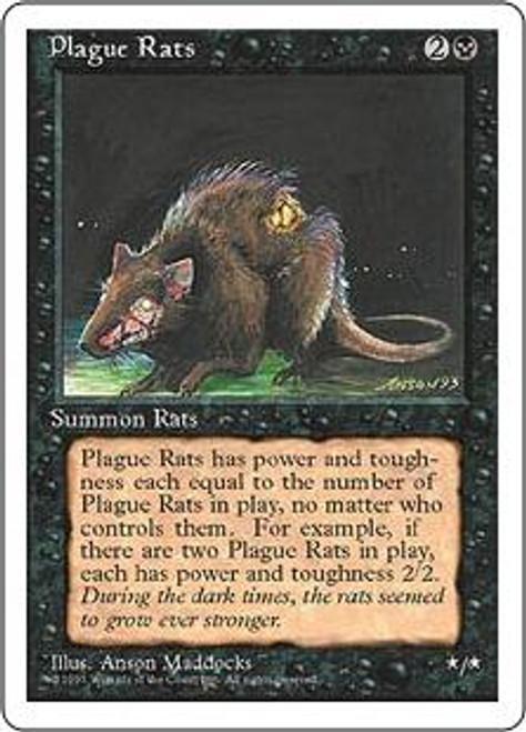 MtG 4th Edition Common Plague Rats