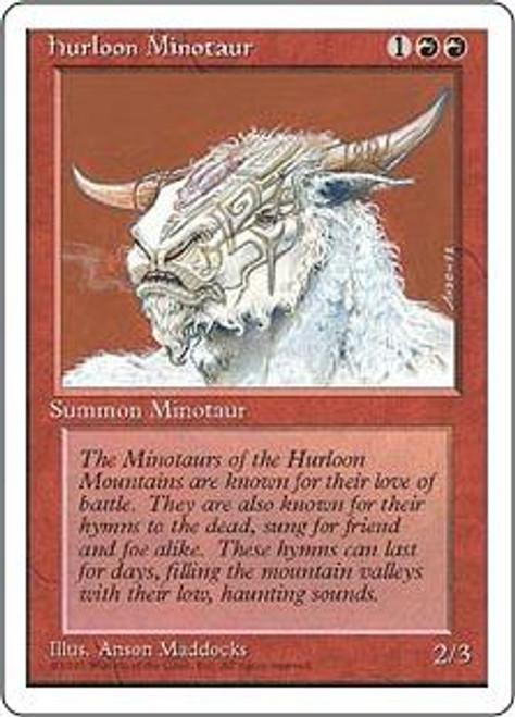 MtG 4th Edition Common Hurloon Minotaur
