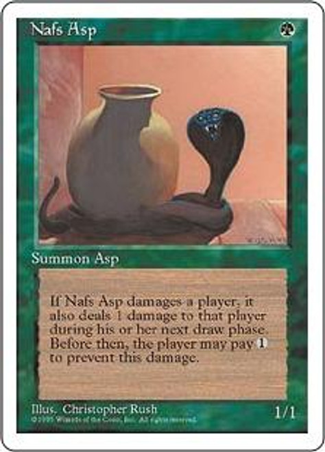 MtG 4th Edition Common Nafs Asp
