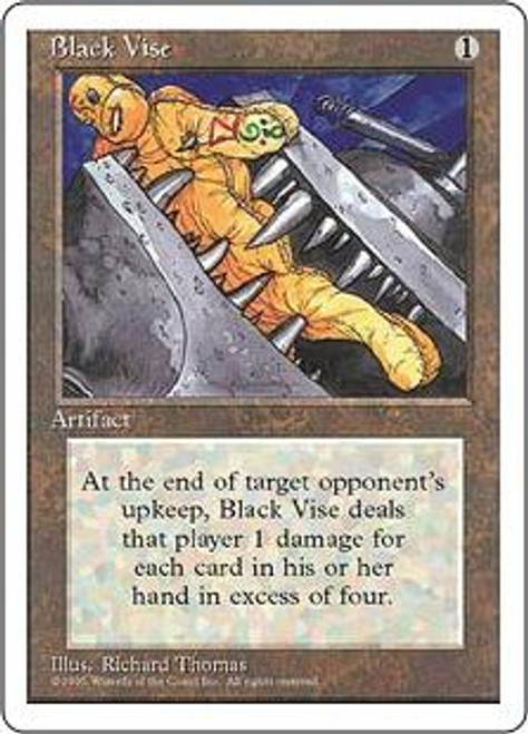 MtG 4th Edition Uncommon Black Vise