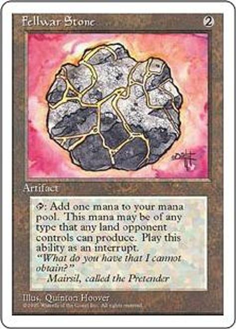 MtG 4th Edition Uncommon Fellwar Stone