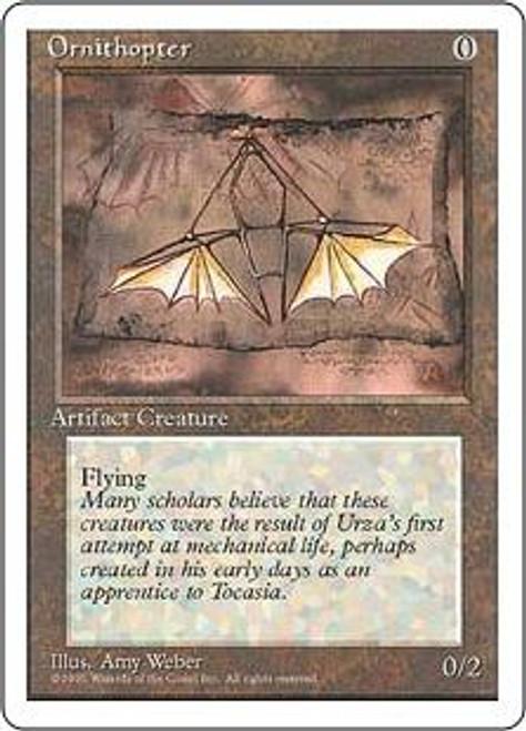 MtG 4th Edition Uncommon Ornithopter