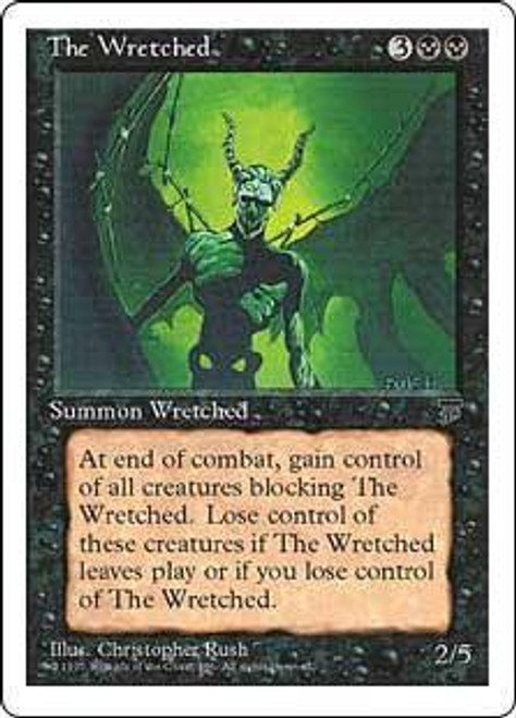 MtG Chronicles Rare The Wretched