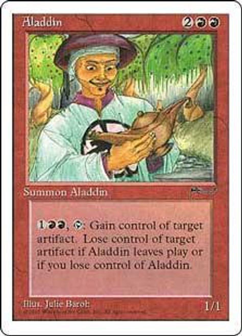 MtG Chronicles Uncommon Aladdin [Played Condition]