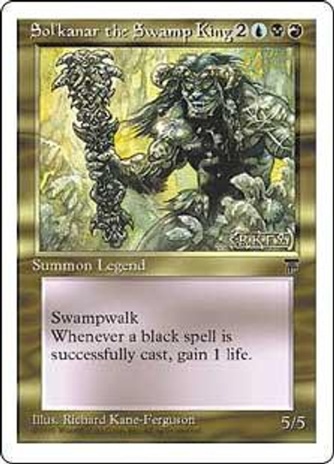 MtG Chronicles Rare Sol'kanar the Swamp King