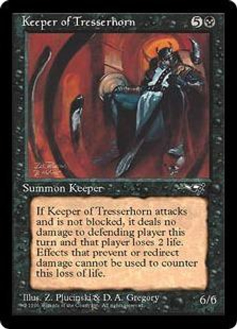 MtG Alliances Rare Keeper of Tresserhorn