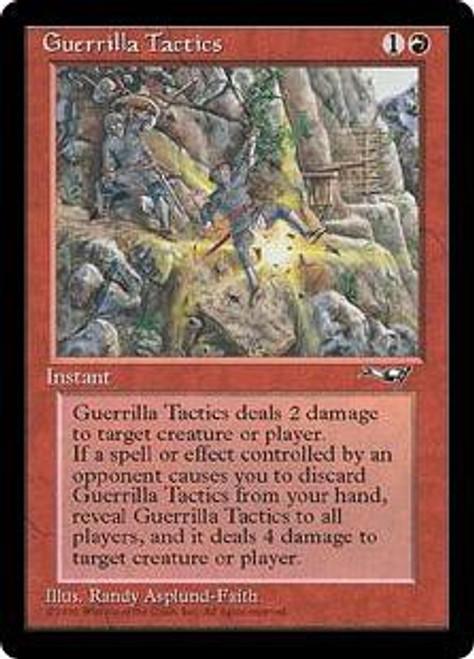 MtG Alliances Common Guerrilla Tactics [Random Artwork]
