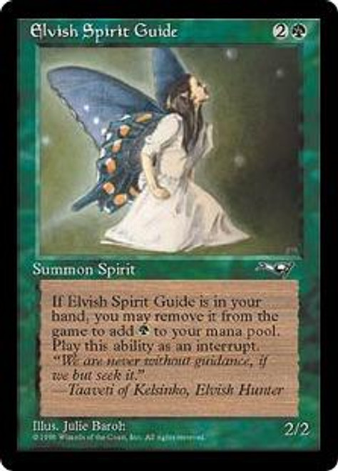 MtG Alliances Uncommon Elvish Spirit Guide