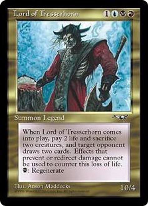 MtG Alliances Rare Lord of Tresserhorn