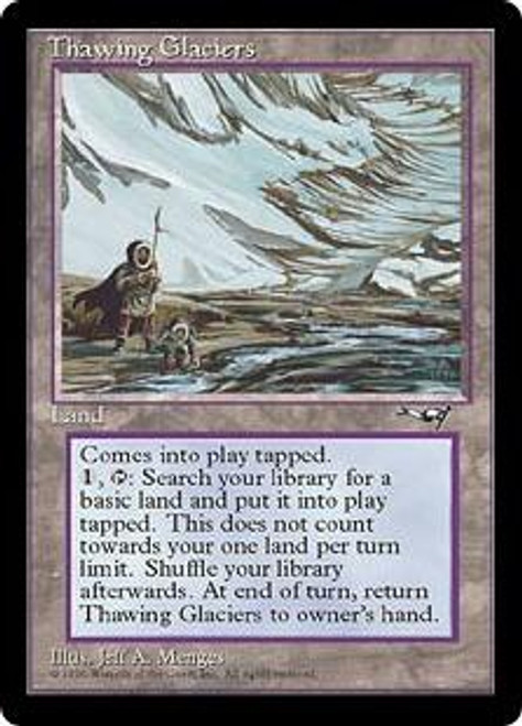 MtG Alliances Rare Thawing Glaciers