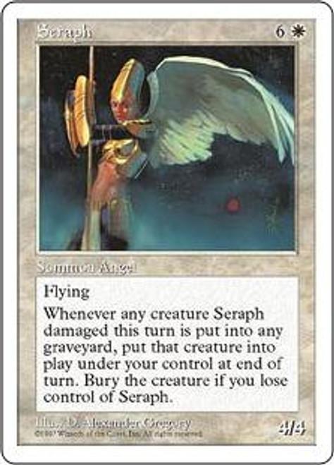MtG 5th Edition Rare Seraph