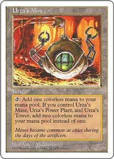 MtG 5th Edition Common Urza's Mine