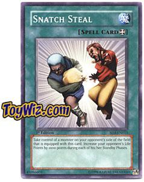 YuGiOh GX Structure Deck: Fury from the Deep Common Snatch Steal SD4-EN015