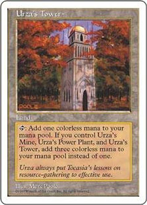 MtG 5th Edition Common Urza's Tower