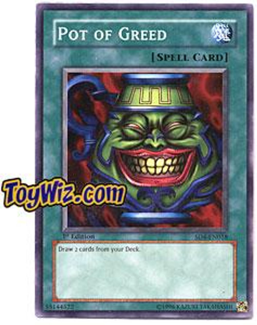YuGiOh GX Structure Deck: Fury from the Deep Common Pot of Greed SD4-EN018