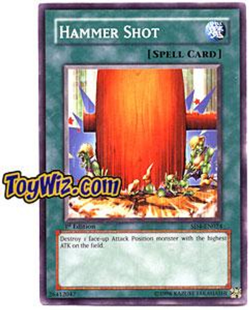 YuGiOh GX Structure Deck: Fury from the Deep Common Hammer Shot SD4-EN024