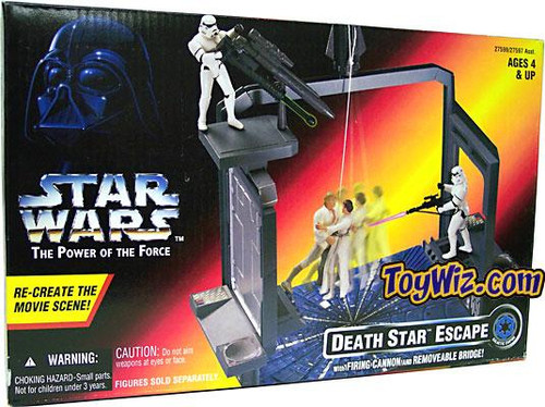 Star Wars A New Hope Power of the Force POTF2 Death Star Escape Action Figure Accessory