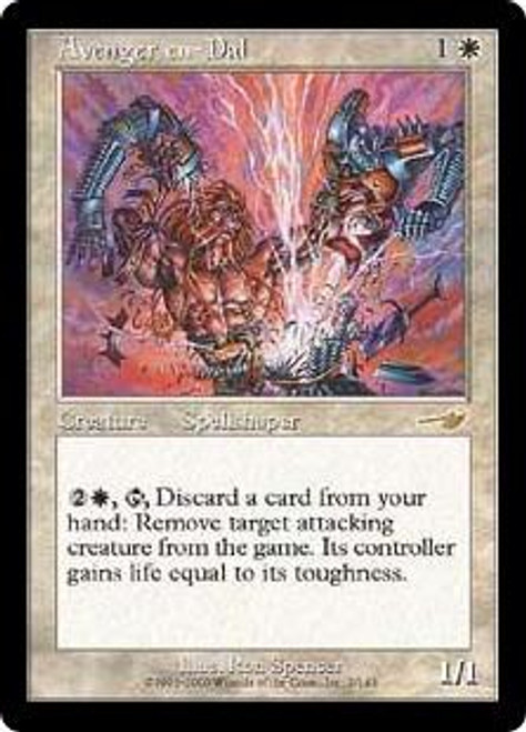 MtG Nemesis Rare Avenger en-Dal #2 [Played Condition]