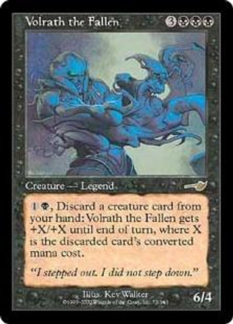 MtG Nemesis Rare Volrath the Fallen #75