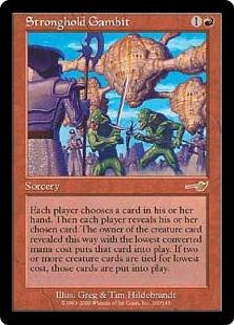 MtG Nemesis Rare Stronghold Gambit #100 [Played Condition]